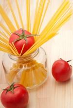 פסטה ועגבניה